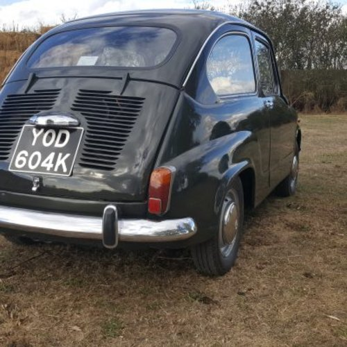 1971 Fiat 600 For Sale (picture 3 of 6)