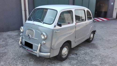 1962 FIAT MULTIPLA 600D SOLD (picture 1 of 6)