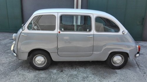 1962 FIAT MULTIPLA 600D SOLD (picture 2 of 6)