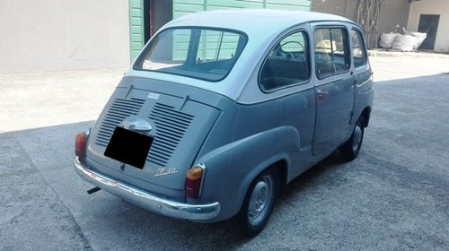 1962 FIAT MULTIPLA 600D SOLD (picture 3 of 6)