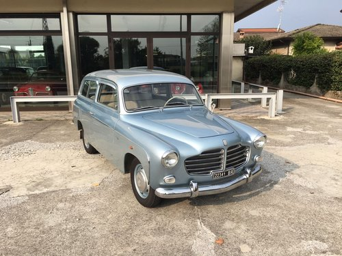 1956 Fiat 1100 viotti sleeping fuoriserie For Sale (picture 1 of 6)