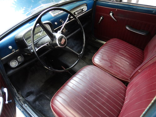 1962 Fiat 1100 D, preserved For Sale (picture 3 of 6)