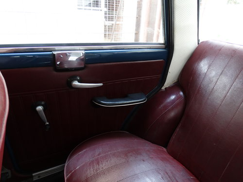 1962 Fiat 1100 D, preserved For Sale (picture 4 of 6)