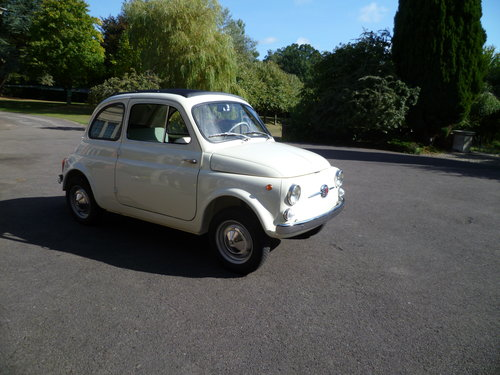 1964 Fiat 500 D Trasformabile suicide door For Sale (picture 1 of 6)