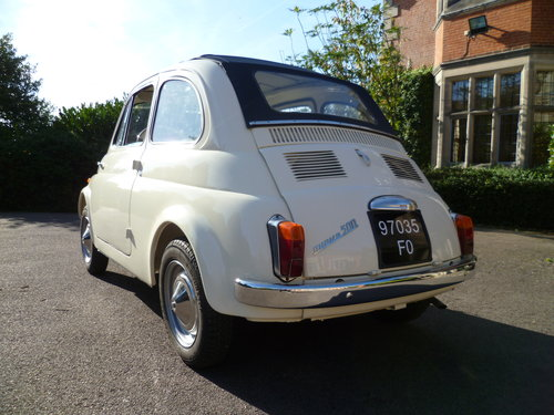 1964 Fiat 500 D Trasformabile suicide door For Sale (picture 2 of 6)