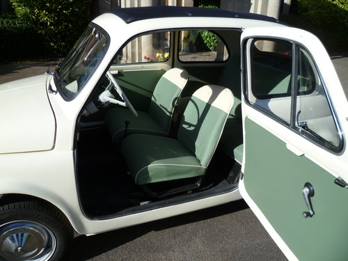 1964 Fiat 500 D Trasformabile suicide door For Sale (picture 3 of 6)