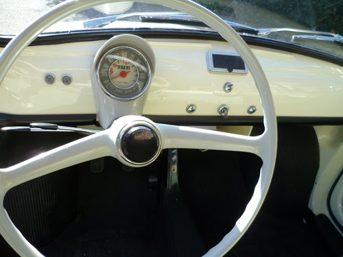 1964 Fiat 500 D Trasformabile suicide door For Sale (picture 5 of 6)