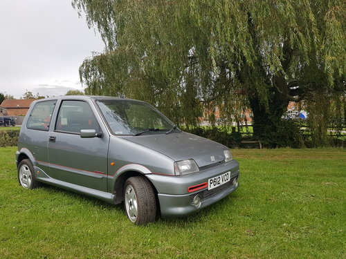 1997 Fiat Cinquecento Sporting Abarth For Sale (picture 1 of 6)