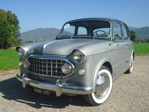 1956 Rare Fiat 1100 103 Elite Vignale '56 For Sale (picture 1 of 6)