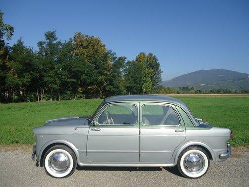 1956 Rare Fiat 1100 103 Elite Vignale '56 For Sale (picture 3 of 6)