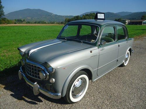 1956 Rare Fiat 1100 103 Elite Vignale '56 For Sale (picture 6 of 6)