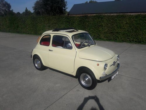 Stunning FIAT 500 F MODEL 1972 READ THE AD.  8500 euro SOLD (picture 1 of 6)