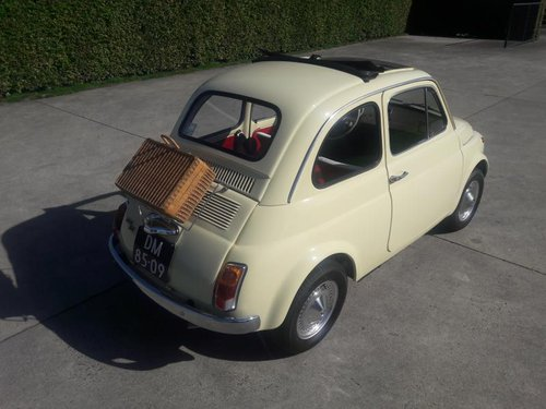 Stunning FIAT 500 F MODEL 1972 READ THE AD.  8500 euro SOLD (picture 2 of 6)