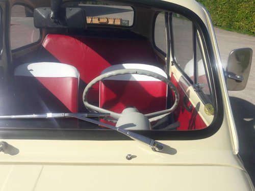 Stunning FIAT 500 F MODEL 1972 READ THE AD.  8500 euro SOLD (picture 6 of 6)