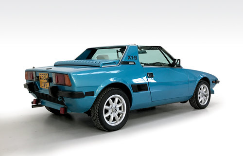 1985 Fiat X1/9 DEPOSIT TAKEN SOLD (picture 2 of 6)