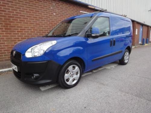 2010 FIAT DOBLO 1.3 Multijet 16V SX Van NO VAT For Sale (picture 1 of 6)