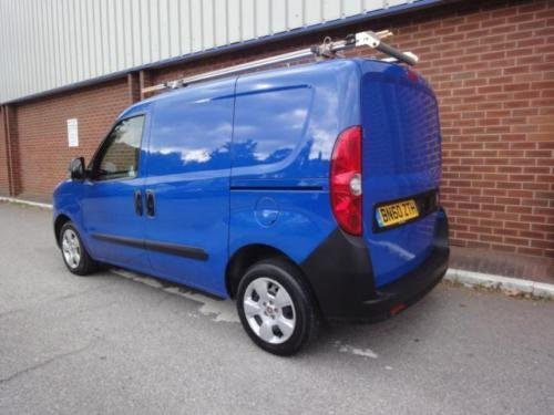 2010 FIAT DOBLO 1.3 Multijet 16V SX Van NO VAT For Sale (picture 2 of 6)