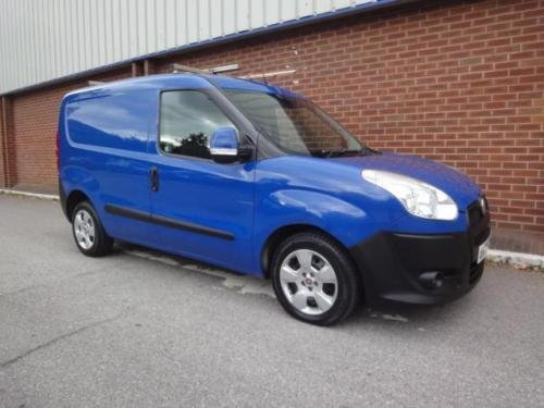 2010 FIAT DOBLO 1.3 Multijet 16V SX Van NO VAT For Sale (picture 4 of 6)