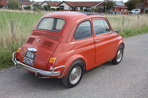Fiat 500L Classic 1971 RHD Great Condition Only 55,000 Miles SOLD (picture 3 of 6)