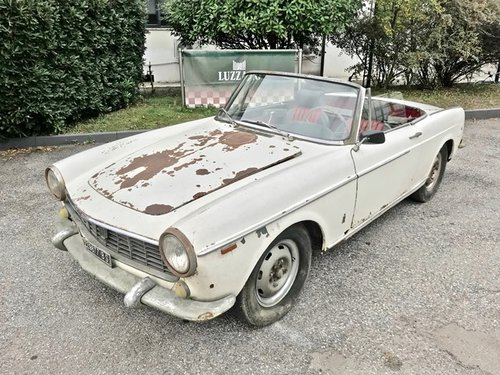 1963 Fiat - 1500 Cabriolet SOLD (picture 1 of 6)