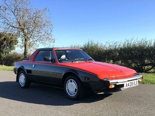 1984 Fiat X1/9 VS SOLD (picture 3 of 6)
