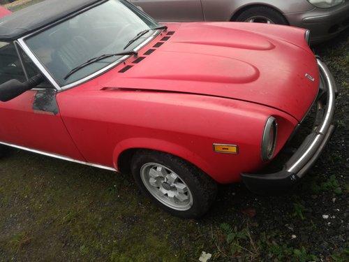 1984 FIAT 124 SPIDER EUROPA AZZURRA PININFARINA For Sale (picture 5 of 6)