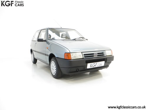 1992 A Fiat Uno 45 Fire with One Former Keeper and 21,981 Miles SOLD (picture 1 of 6)