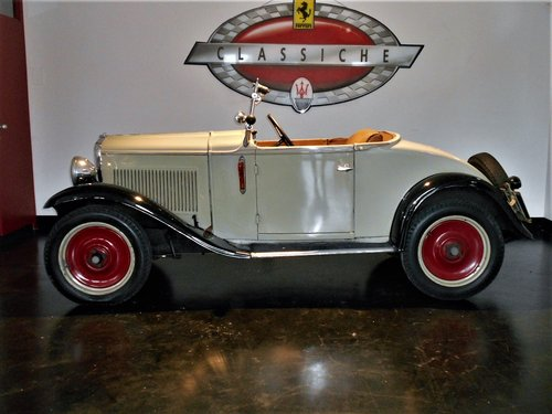 1932 Fiat Balilla Cabriolet  For Sale (picture 3 of 6)