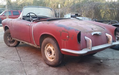 1958 Fiat 1200 TV to restore for sale For Sale (picture 4 of 6)