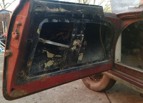 1958 Fiat 1200 TV to restore for sale For Sale (picture 5 of 6)