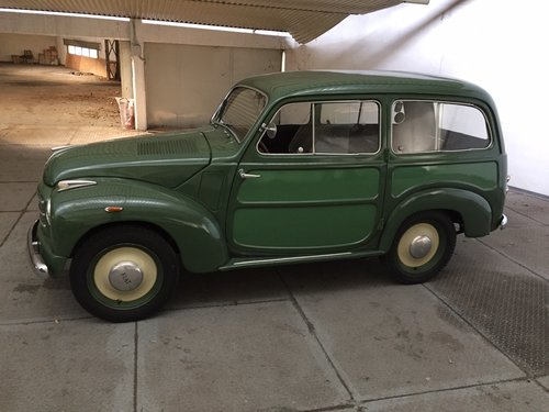 1953 Fiat 500 C topolino belvedere For Sale (picture 1 of 6)