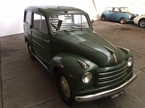 1953 Fiat 500 C topolino belvedere For Sale (picture 2 of 6)