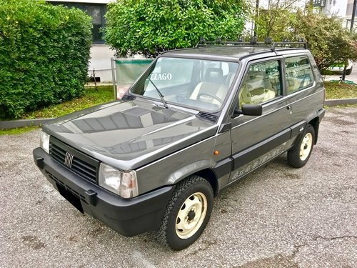 1988 FIAT PANDA X4X SISLEY LIMITED EDITION SOLD (picture 1 of 6)