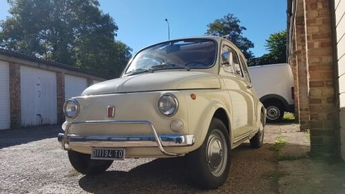 1970 Fiat 500L IN STUNNING CONDITION SOLD (picture 1 of 6)