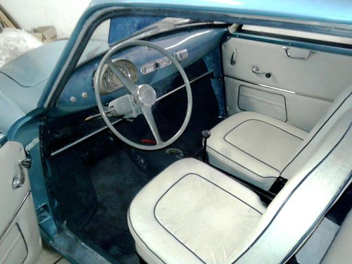 FIAT600 MONTEROSA COACH 1956 ONLY TWO SURVIVORS IN THE WORLD For Sale (picture 5 of 6)