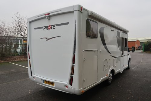 2017 Pilote P740GJ Sensation 130PS Luxury 2 Berth For Sale (picture 3 of 6)