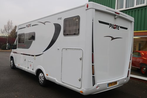 2017 Pilote P740GJ Sensation 130PS Luxury 2 Berth For Sale (picture 4 of 6)