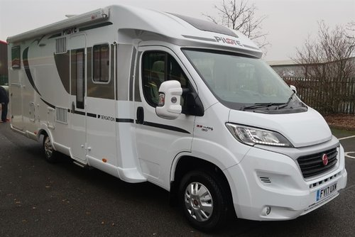 2017 Pilote P740GJ Sensation 130PS Luxury 2 Berth For Sale (picture 2 of 6)