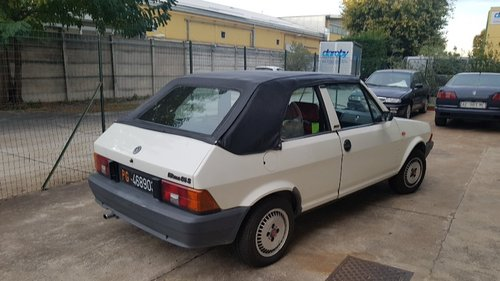 1983 very nice ritmo bertone cabriolet For Sale (picture 2 of 6)