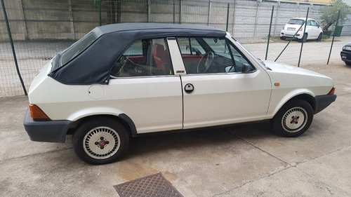 1983 very nice ritmo bertone cabriolet For Sale (picture 3 of 6)