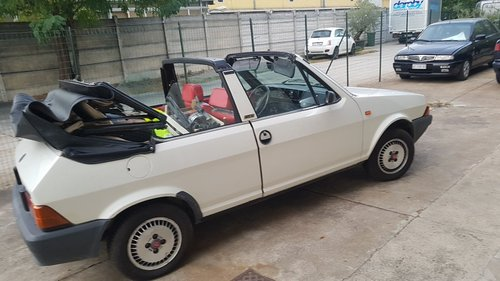 1983 very nice ritmo bertone cabriolet For Sale (picture 5 of 6)