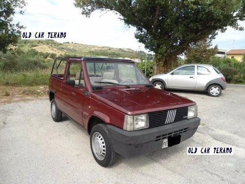 1984 Fiat Panda Moretti For Sale (picture 1 of 6)