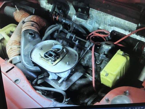 1987(D)FIAT X19 FOR LIGHT RESTORATION,SUPERB INTERIOR SOLD (picture 4 of 6)