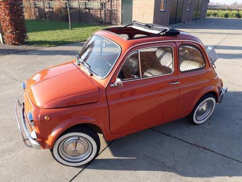 Fiat 500 L totaly restored carollo rosso 1969 8900 EURO SOLD (picture 1 of 6)
