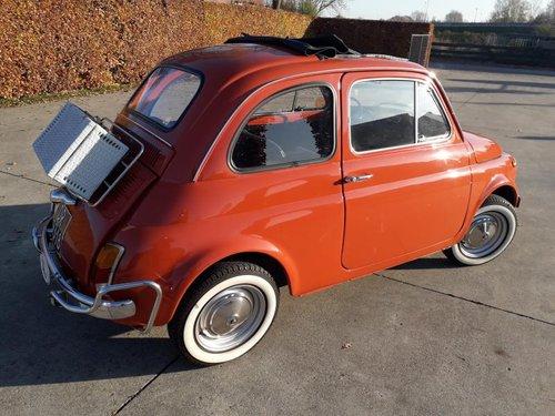 Fiat 500 L totaly restored carollo rosso 1969 8900 EURO SOLD (picture 2 of 6)