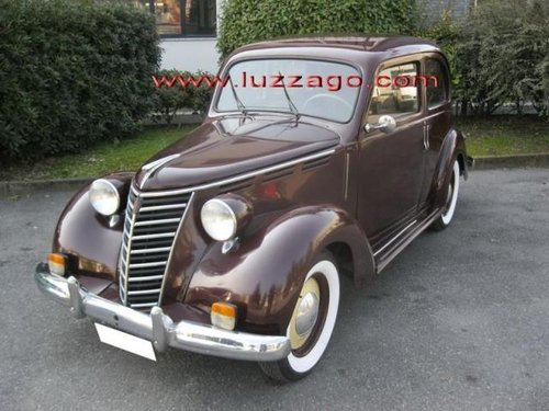 1951 FIAT 1100E MUSONE SOLD (picture 1 of 5)