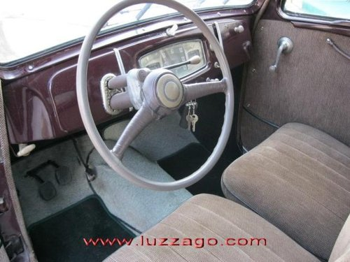 1951 FIAT 1100E MUSONE SOLD (picture 4 of 5)