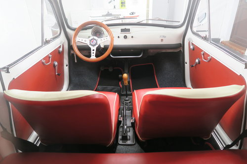 1970 Classic Fiat 500 Giannini -TV. Ultra Rare Show Car For Sale (picture 4 of 6)