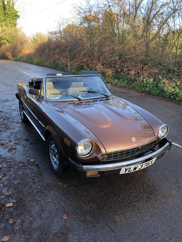 1982 Fiat 124 Spider 2000 For Sale (picture 6 of 6)