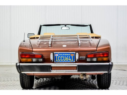 1981 Fiat 124 Spider 2000 For Sale (picture 4 of 6)